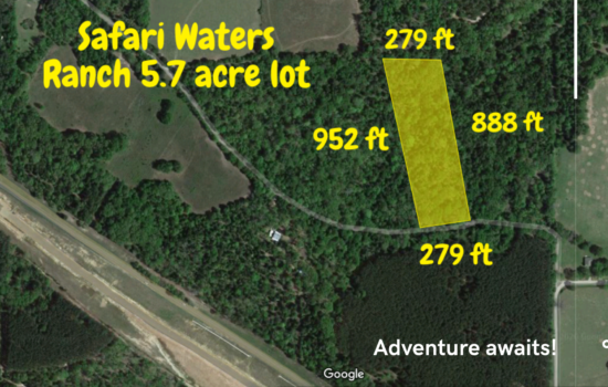 Incredibly cheap RV park access! Buy this 5.72 acre lot in Larue TX and get RV lot access with hook ups for only $12/night. Nature lovers paradise- 3 lakes, docks, fishing and exotic wildlife. Comps at $45,000 and higher. Buy this lot for only $42,500 Cash!