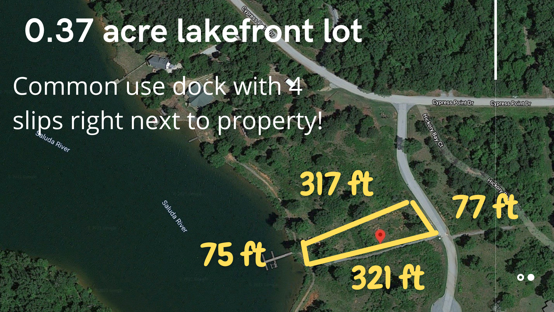 Lake Greenwood Lakefront Lot for Sale
